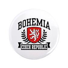 """Bohemia Czech Republic 3.5"""" Button"""