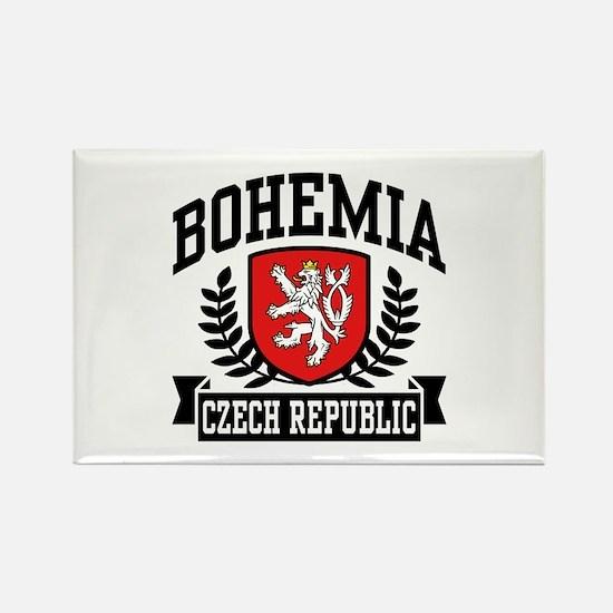 Bohemia Czech Republic Rectangle Magnet
