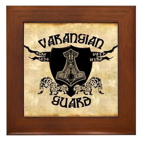 Varangian Guard Framed Tile