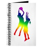 Basketball girls Journals & Spiral Notebooks