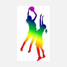 Women's Basketball Decal