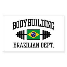 Brazilian Bodybuilder Decal