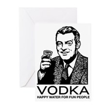 Vodka Greeting Cards (Pk of 20)