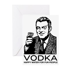 Vodka Greeting Cards (Pk of 10)