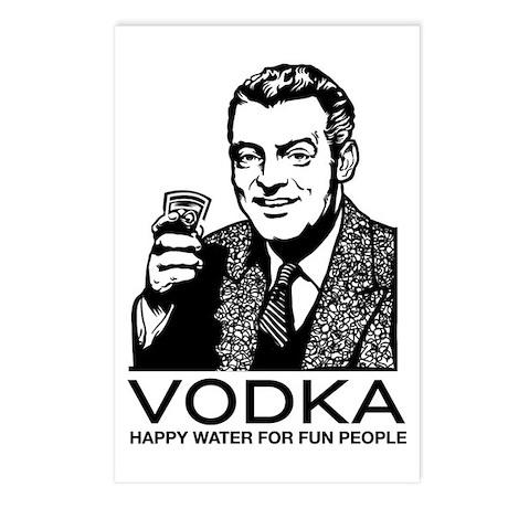 Vodka Postcards (Package of 8)