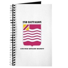 DUI - 2nd Bn - 15th FA Regt with Text Journal