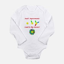 Improvements Success Long Sleeve Infant Bodysuit
