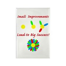 Improvements Success Rectangle Magnet