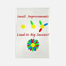 Improvements Success Rectangle Magnet