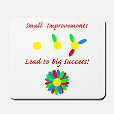 Improvements Success Mousepad