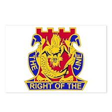 DUI - 2nd Bn - 14th Infantry Regt Postcards (Packa