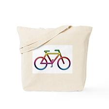 """""""Rainbow Bike"""" Tote Bag"""