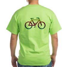 """Rainbow Bike"" T-Shirt"