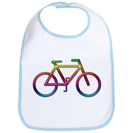 """Rainbow Bike"" Bib"