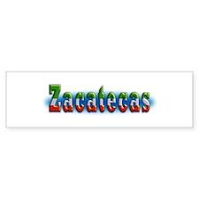 Zacatecas 1a Bumper Sticker