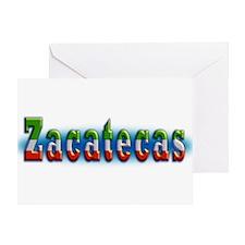 Zacatecas 1a Greeting Card