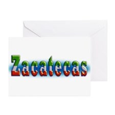 Zacatecas 1a Greeting Cards (Pk of 10)