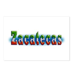 Zacatecas 1a Postcards (Package of 8)
