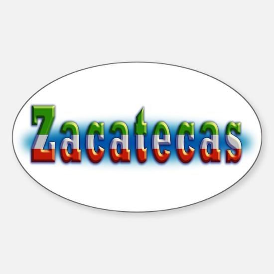 Zacatecas 1a Sticker (Oval)
