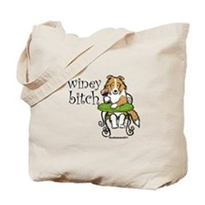 Winey Bitch Sheltie Tote Bag