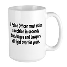 A Police Officer must Mug
