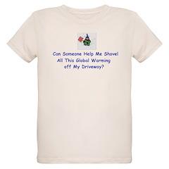 Shovel global Warming T-Shirt