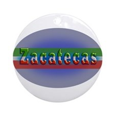 Zacatecas 1g Ornament (Round)