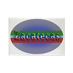 Zacatecas 1g Rectangle Magnet