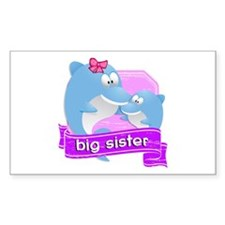 Big Sister Dolphin Decal