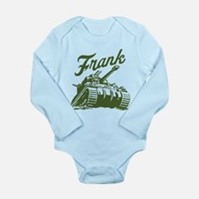 frank the Long Sleeve Infant Bodysuit