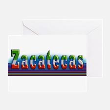 Zacatecas - 1b Greeting Card