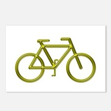 """""""Gold Bike"""" Postcards (Package of 8)"""