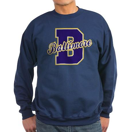 Baltimore Letter Sweatshirt (dark)