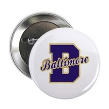 "Baltimore Letter 2.25"" Button"