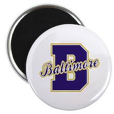 Baltimore Letter Magnet