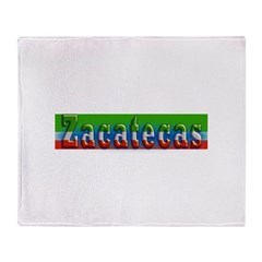 Zacatecas - 1d Throw Blanket