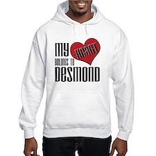 Heart Belongs To Desmond Hoodie