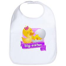 Big Sister Duckling Bib
