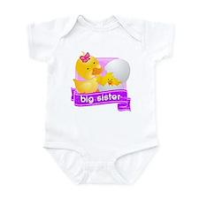 Big Sister Duckling Infant Bodysuit