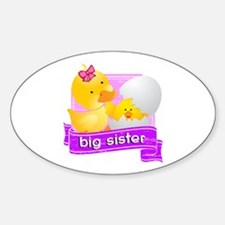 Big Sister Duckling Decal