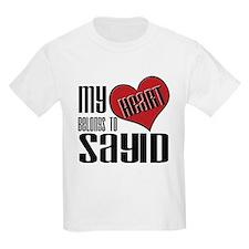 Heart Belongs To Sayid T-Shirt