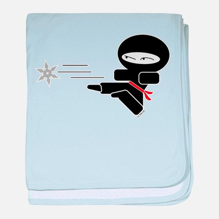 Lil Ninja baby blanket