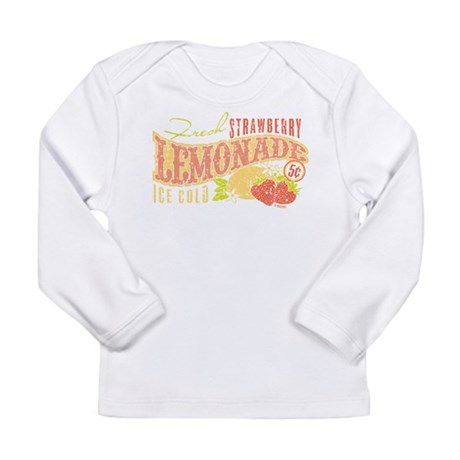 Strawberry Lemonade Long Sleeve Infant T-Shirt