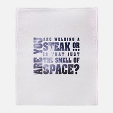 Space Smells like... Throw Blanket