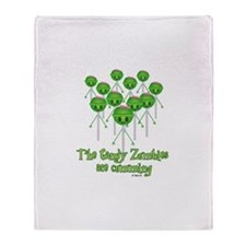 The Candy Zombies Throw Blanket