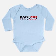 Major Mood Disorder Long Sleeve Infant Bodysuit