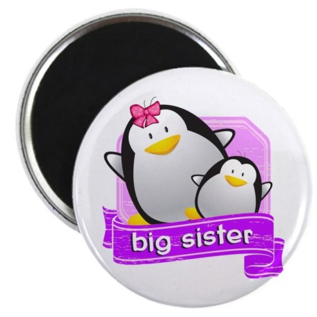 Big Sister Penguin Magnet