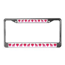 Pit Bull License Plate Frame