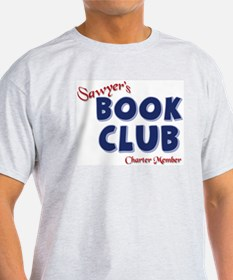 Sawyer's Book Club Ash Grey T-Shirt