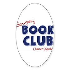 Sawyer's Book Club Decal